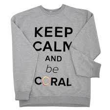 Bluza Keep Calm szara