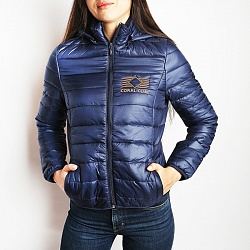 Women's jacket with logo. Europe