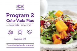 "Broszura ""Program 2 Colo-Vada Plus - to proste i smaczne!"""