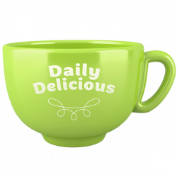 Kubek Daily Delicious jasnozielony