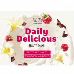 "Ulotka ""Daily Delicious Beauty Shake"". Polska"