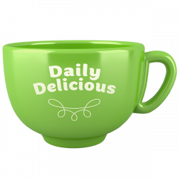 Kubek Daily Delicious zielony